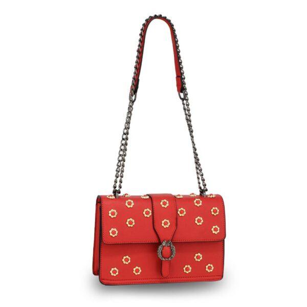 Ženska torbica Zala, rdeča